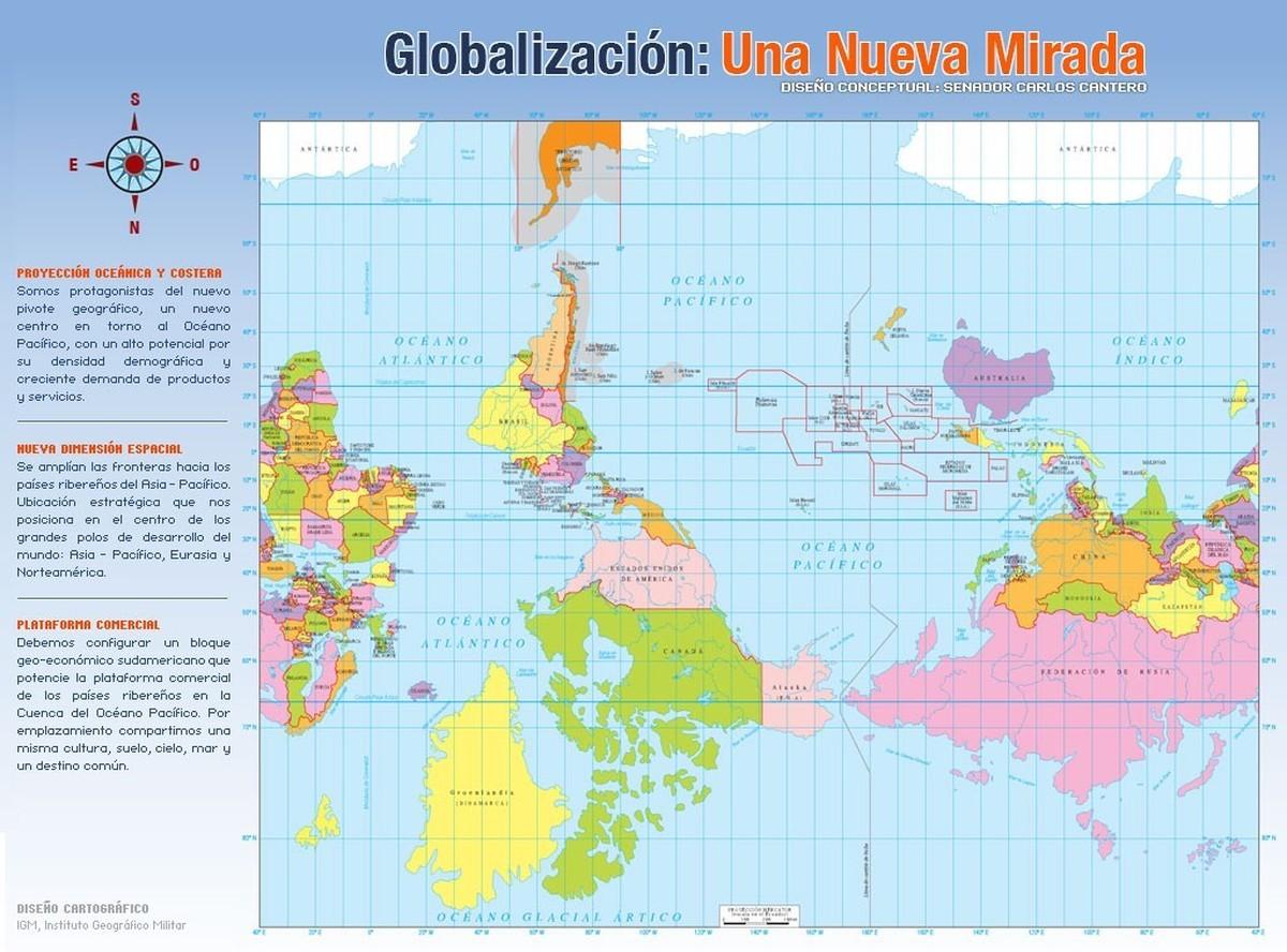 worldmaps07 Карты мира?—?как они выглядят в разных странах