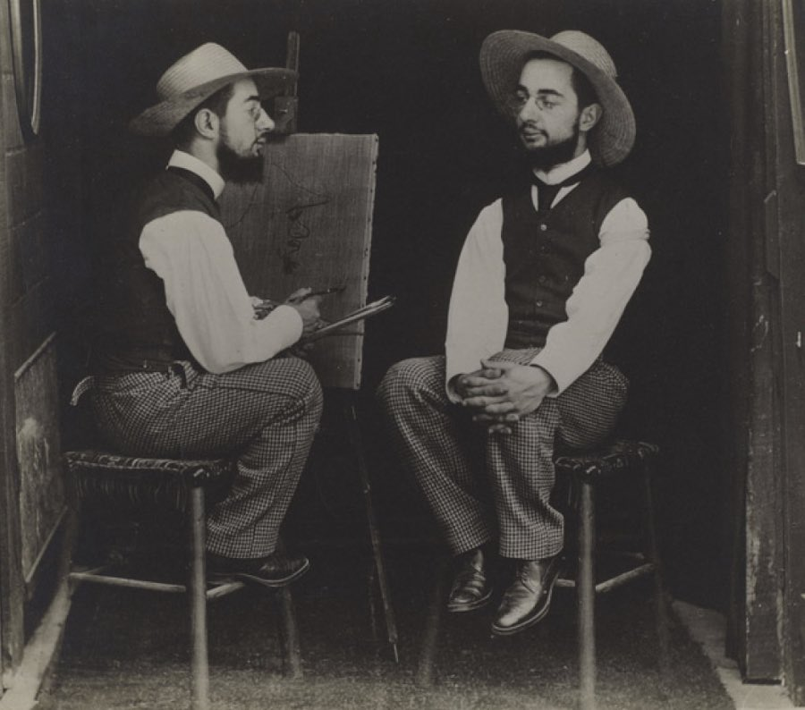 004Henri de Toulouse Lautrec as Artist and Model Своими руками: обработанные снимки доцифровой эпохи