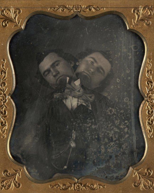 013Two Headed Man Своими руками: обработанные снимки доцифровой эпохи