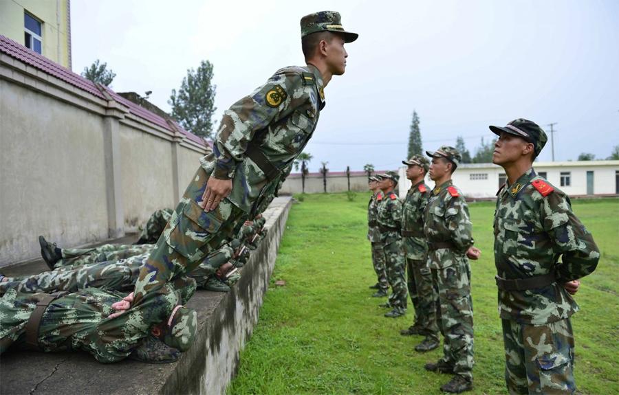 39 Самые суровые армейские тренировки со всего мира