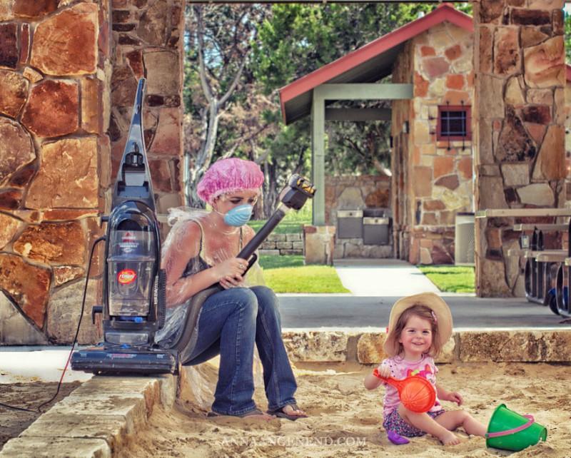 Картинка мама с ребенком смешная