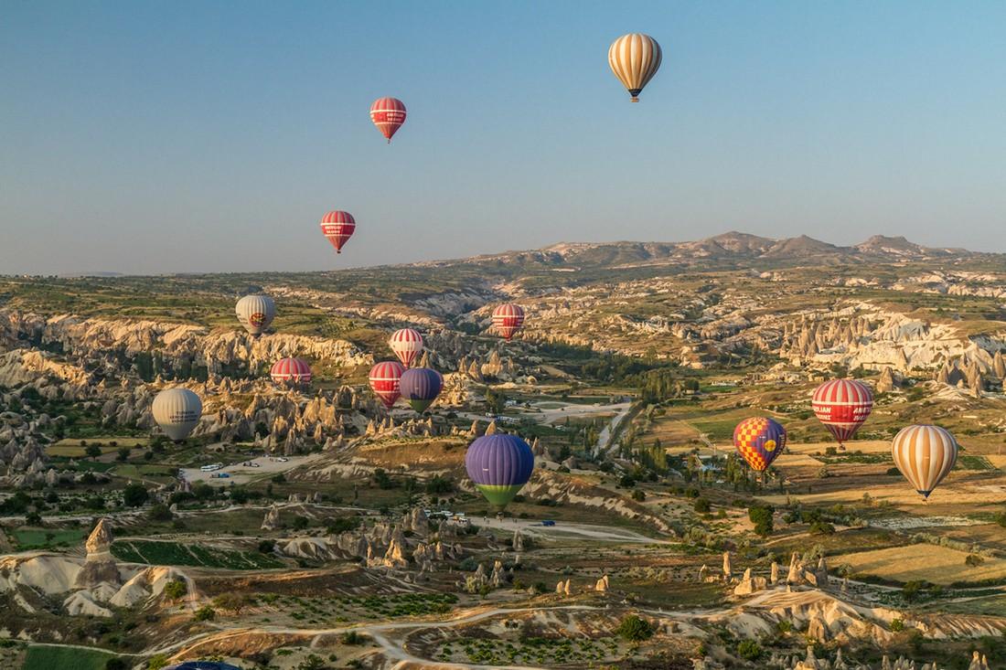 Airballoon01 Лучшие в мире места для незабываемых полётов на воздушном шаре