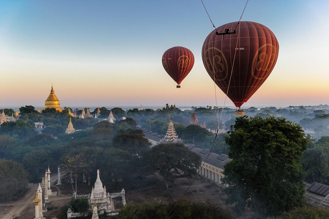 Airballoon04 Лучшие в мире места для незабываемых полётов на воздушном шаре