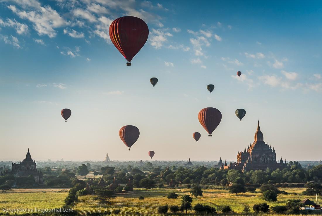 Прогулка на воздушном шаре картинки