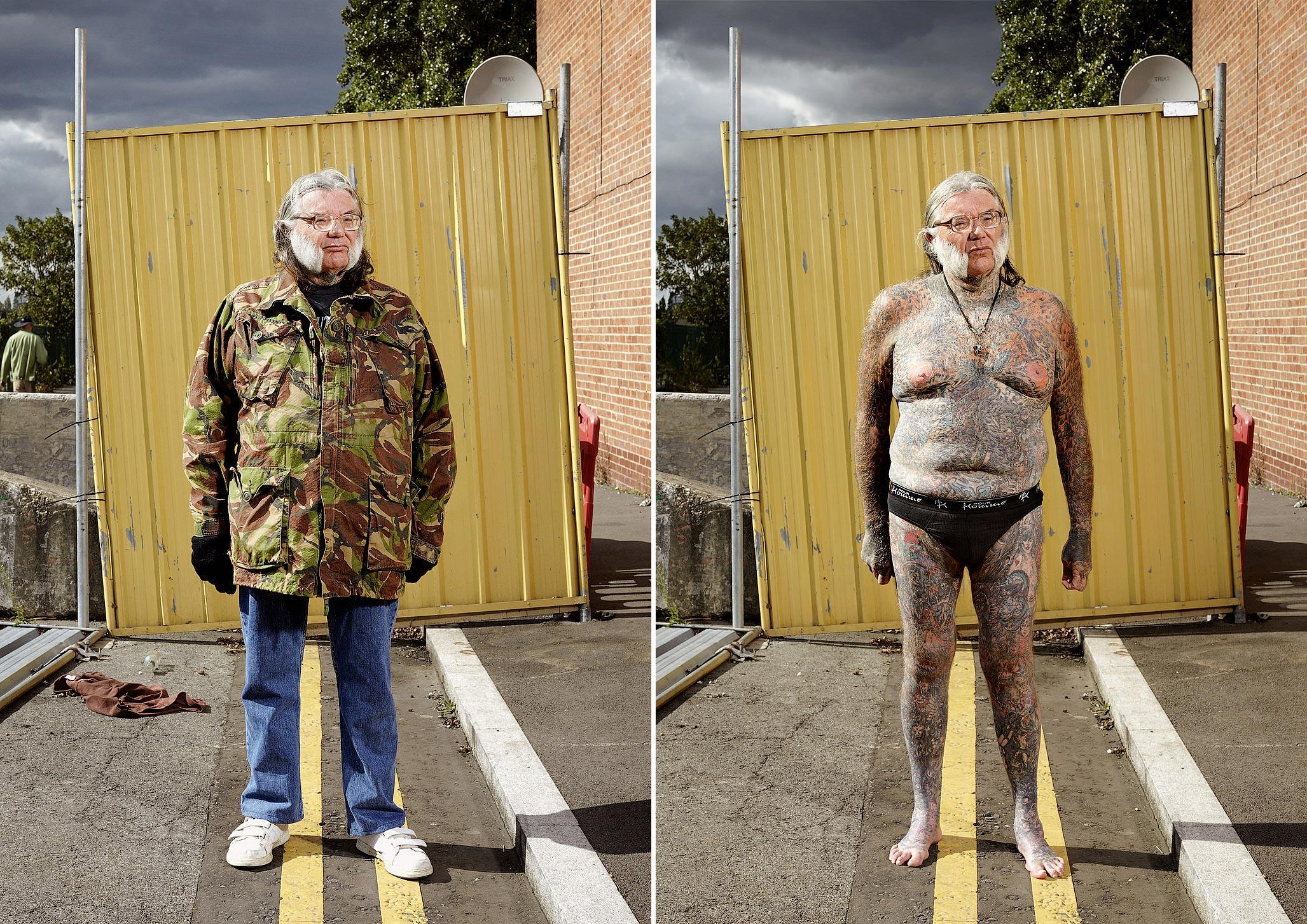 092 14 фото английских любителей тату в одежде и без