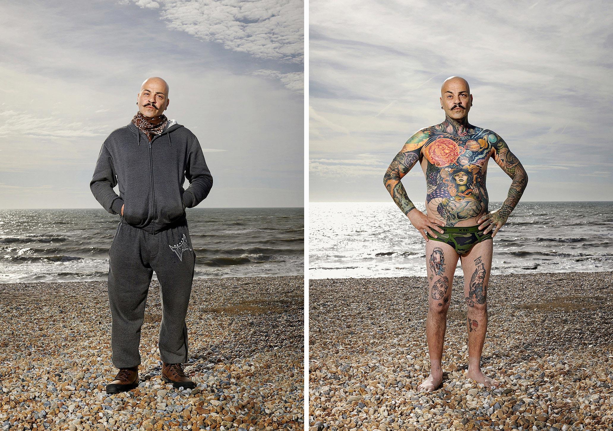 1110 14 фото английских любителей тату в одежде и без