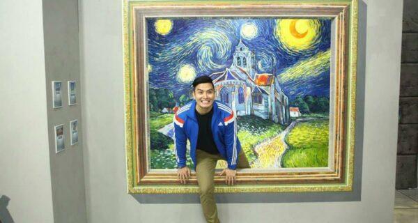 Музей с трехмерными картинами, которые помогут вам стать частичкой большого искусства