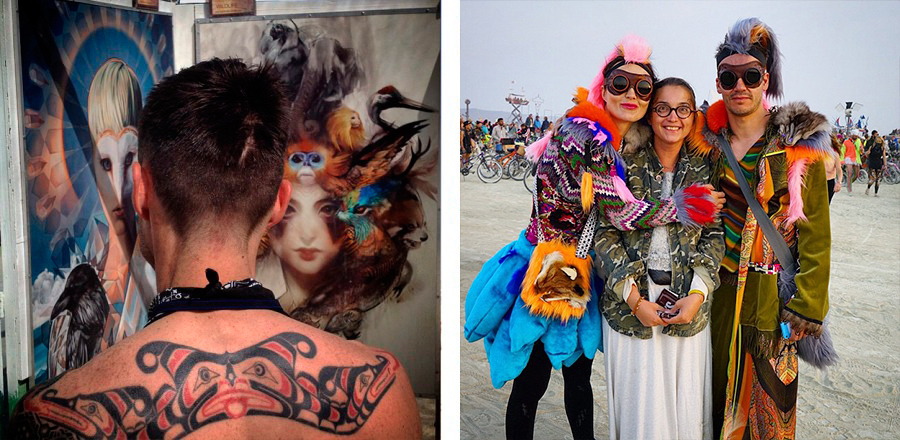 BurningManCommandments10 15 заповедей участника Burning Man