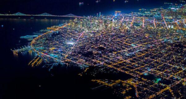 Фото ночного Сан-Франциско, от которых захватывает дух