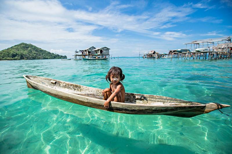 Удивительная жизнь морских цыган с острова Борнео