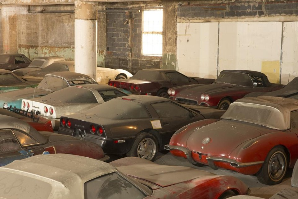 abandonedauto10 Сокровища забытых гаражей