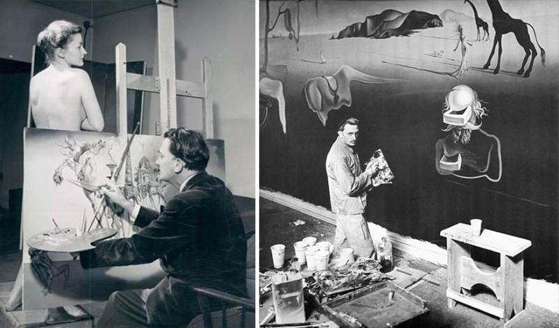 artistworkshops03 800x470 100 знаменитых художников и их мастерские