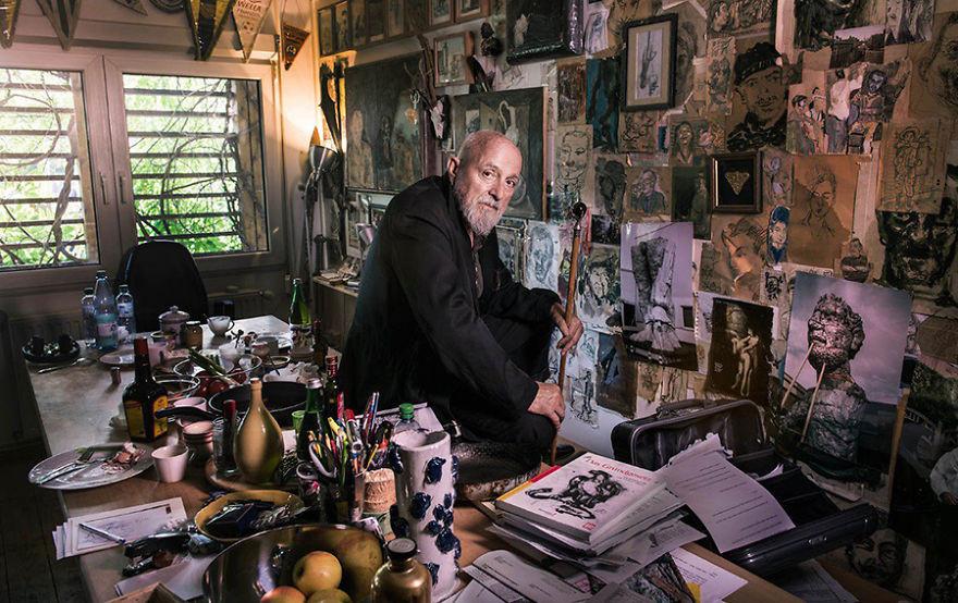artistworkshops14 100 знаменитых художников и их мастерские