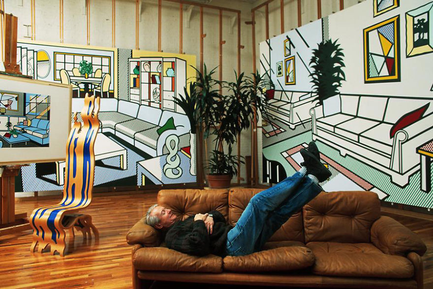 artistworkshops16 100 знаменитых художников и их мастерские