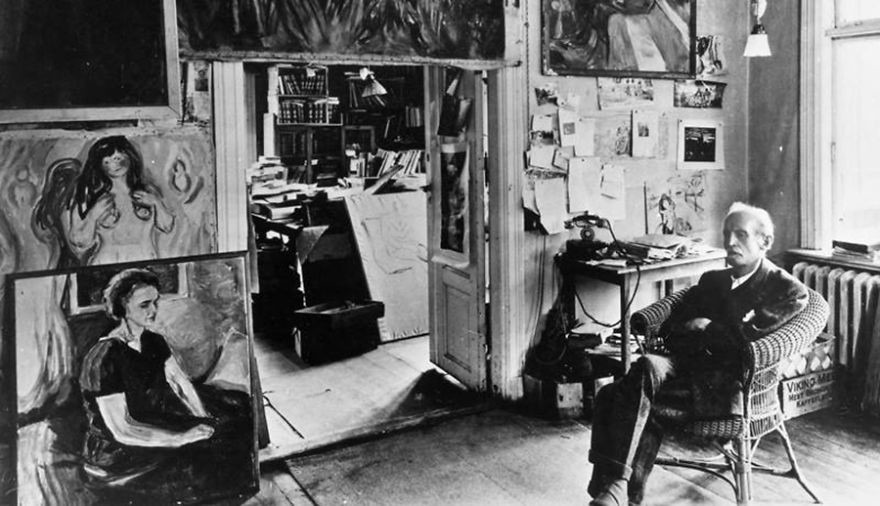 artistworkshops18 100 знаменитых художников и их мастерские