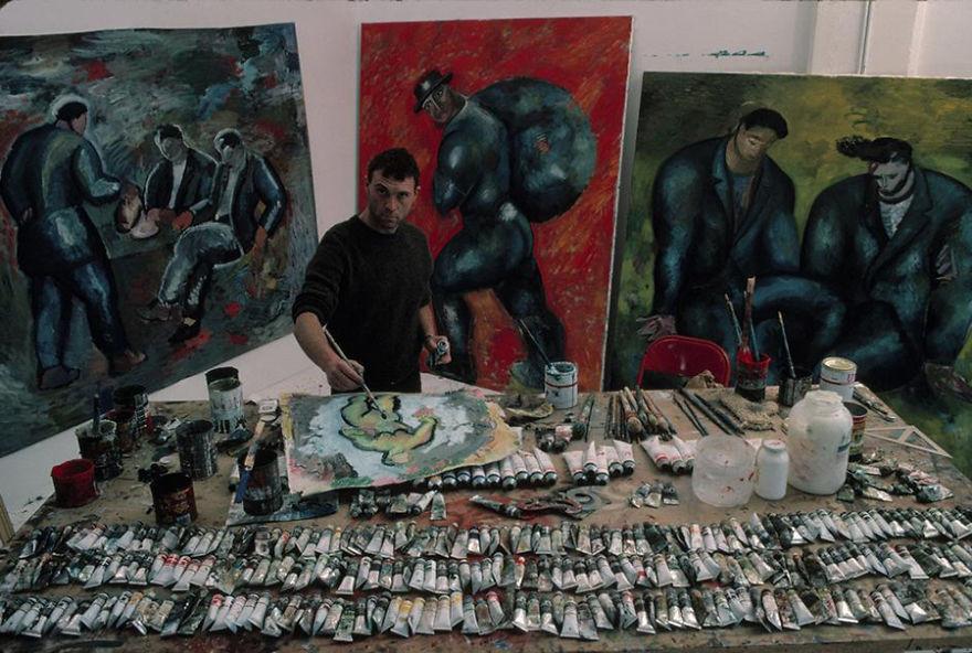artistworkshops36 100 знаменитых художников и их мастерские