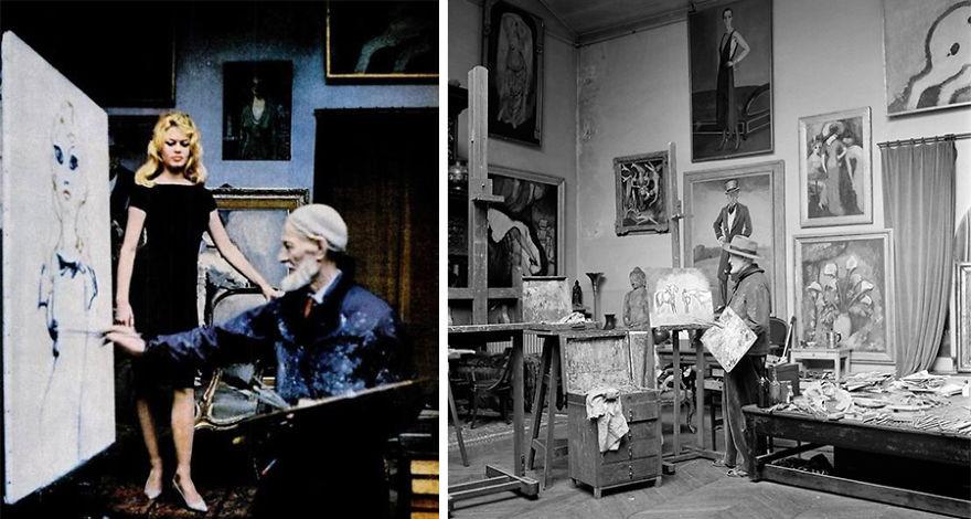 artistworkshops40 100 знаменитых художников и их мастерские
