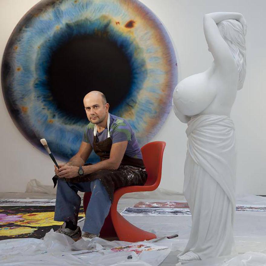 artistworkshops46 100 знаменитых художников и их мастерские