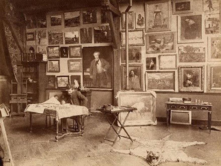 artistworkshops52 100 знаменитых художников и их мастерские