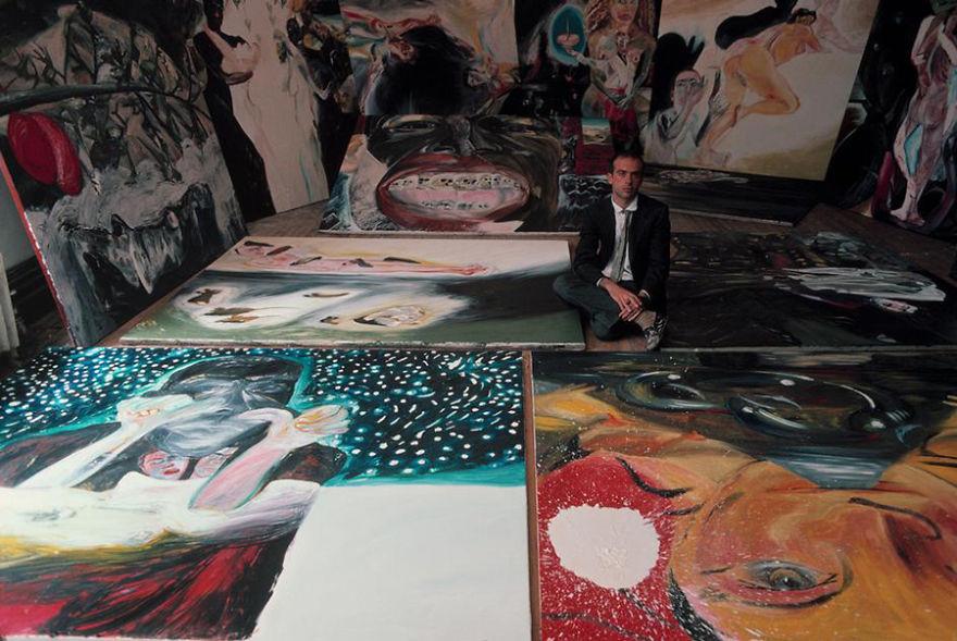 artistworkshops56 100 знаменитых художников и их мастерские