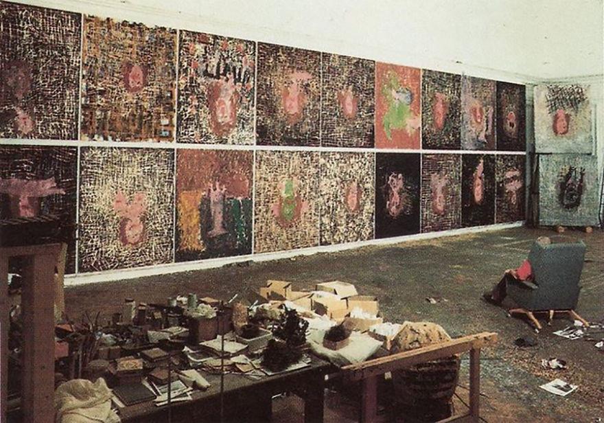 artistworkshops82 100 знаменитых художников и их мастерские