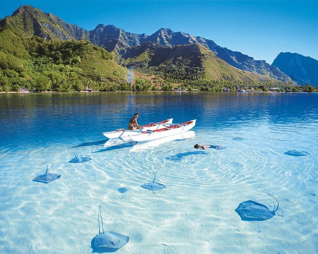 cleanwater26 35 уникальных мест планеты, которые удивят кристально чистой водой
