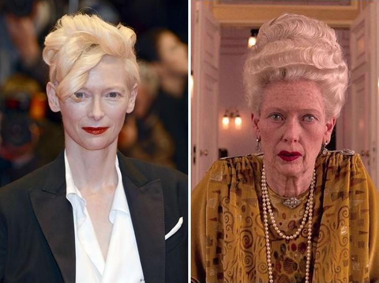 makeup01 Грим всему голова: актеры до и после удивительного перевоплощения при помощи грима
