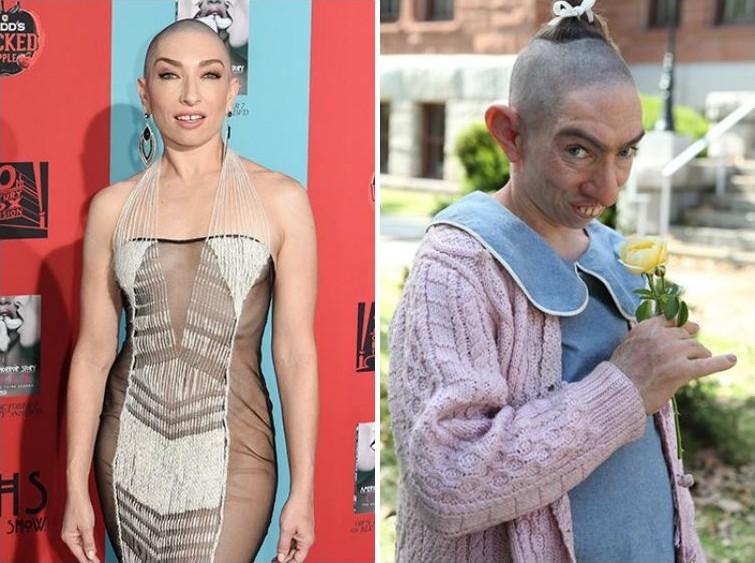 makeup02 Грим всему голова: актеры до и после удивительного перевоплощения при помощи грима