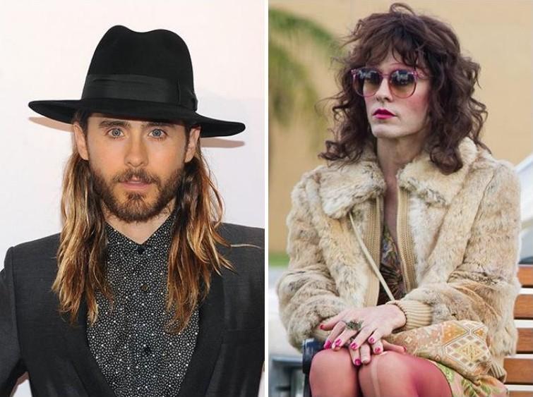 makeup03 Грим всему голова: актеры до и после удивительного перевоплощения при помощи грима