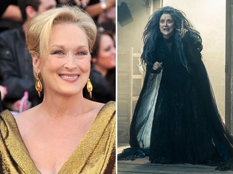 makeup07 Грим всему голова: актеры до и после удивительного перевоплощения при помощи грима