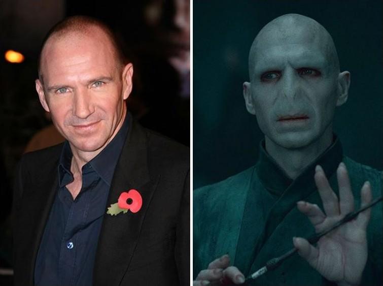 makeup13 Грим всему голова: актеры до и после удивительного перевоплощения при помощи грима
