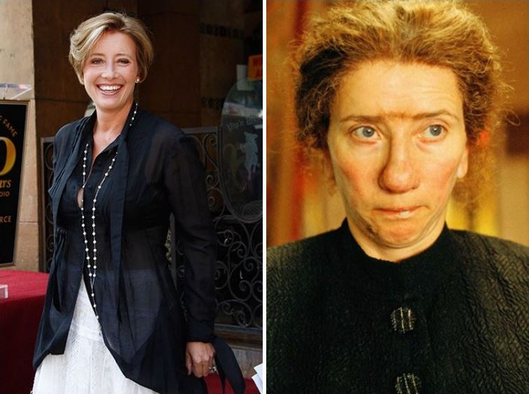 makeup14 Грим всему голова: актеры до и после удивительного перевоплощения при помощи грима