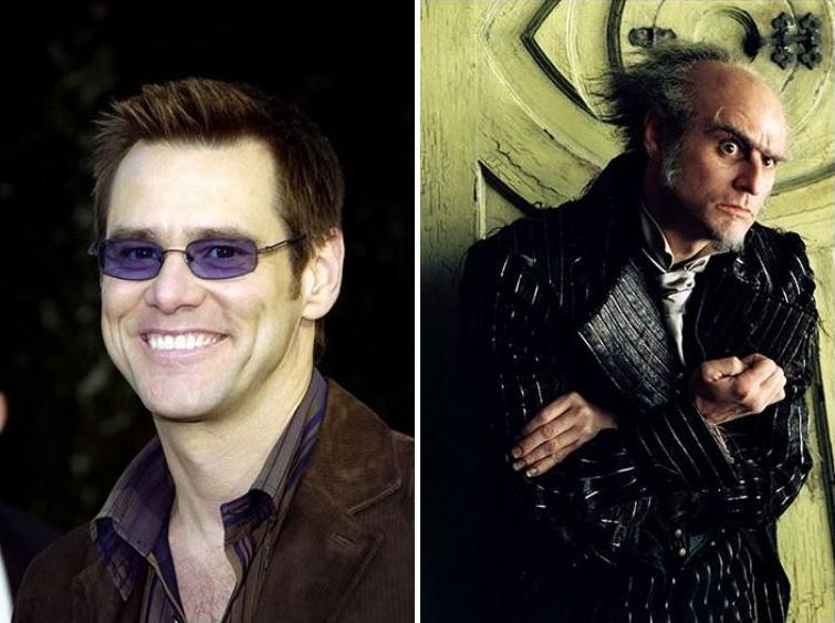 makeup18 Грим всему голова: актеры до и после удивительного перевоплощения при помощи грима