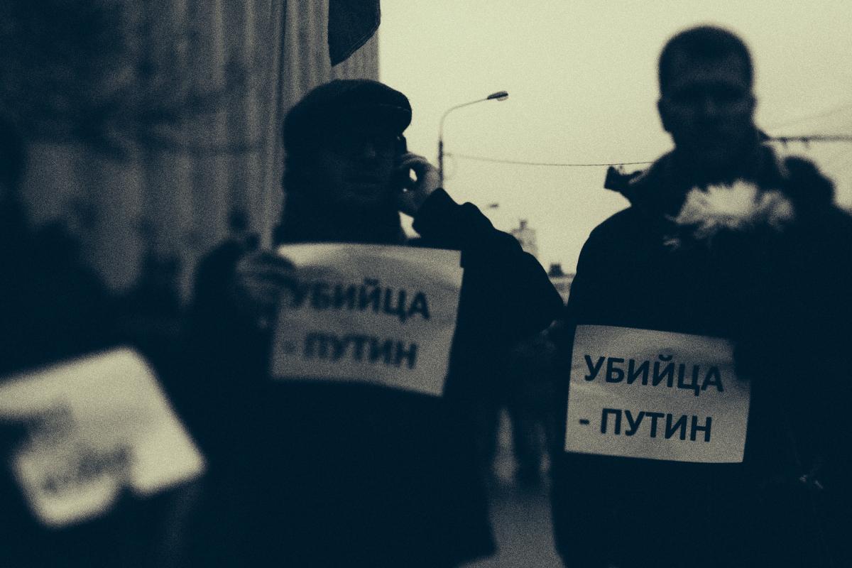 nemtsov 03 Черно белый марш. Памяти Бориса Немцова
