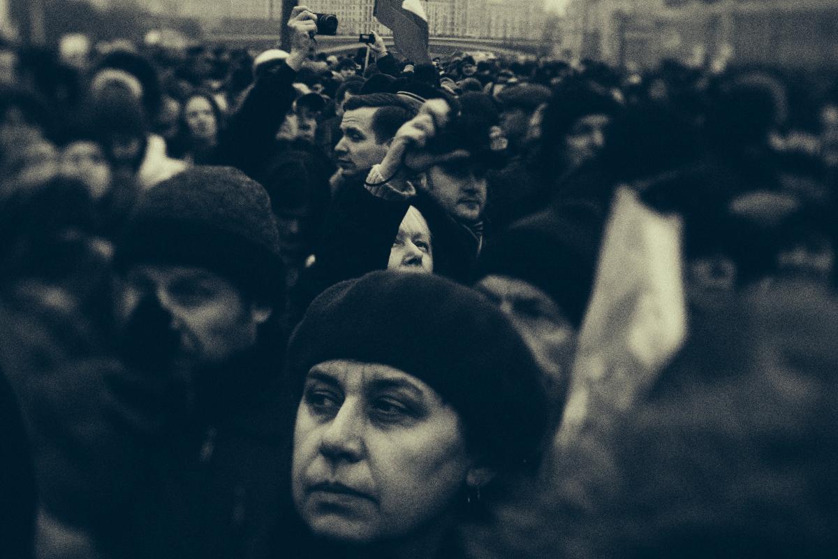 nemtsov 07 Черно белый марш. Памяти Бориса Немцова