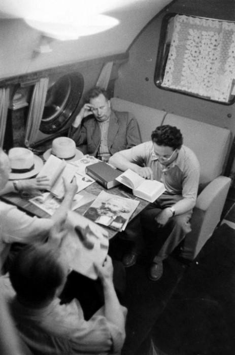 sovietaircraft04 - Как выглядел первый класс в советских самолетах