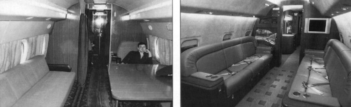 sovietaircraft10 - Как выглядел первый класс в советских самолетах