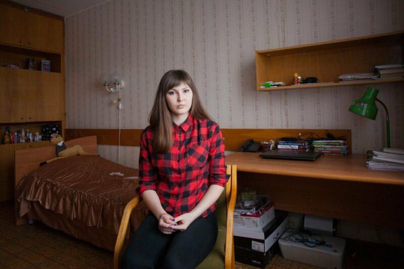 Секс девочек общежитии 4