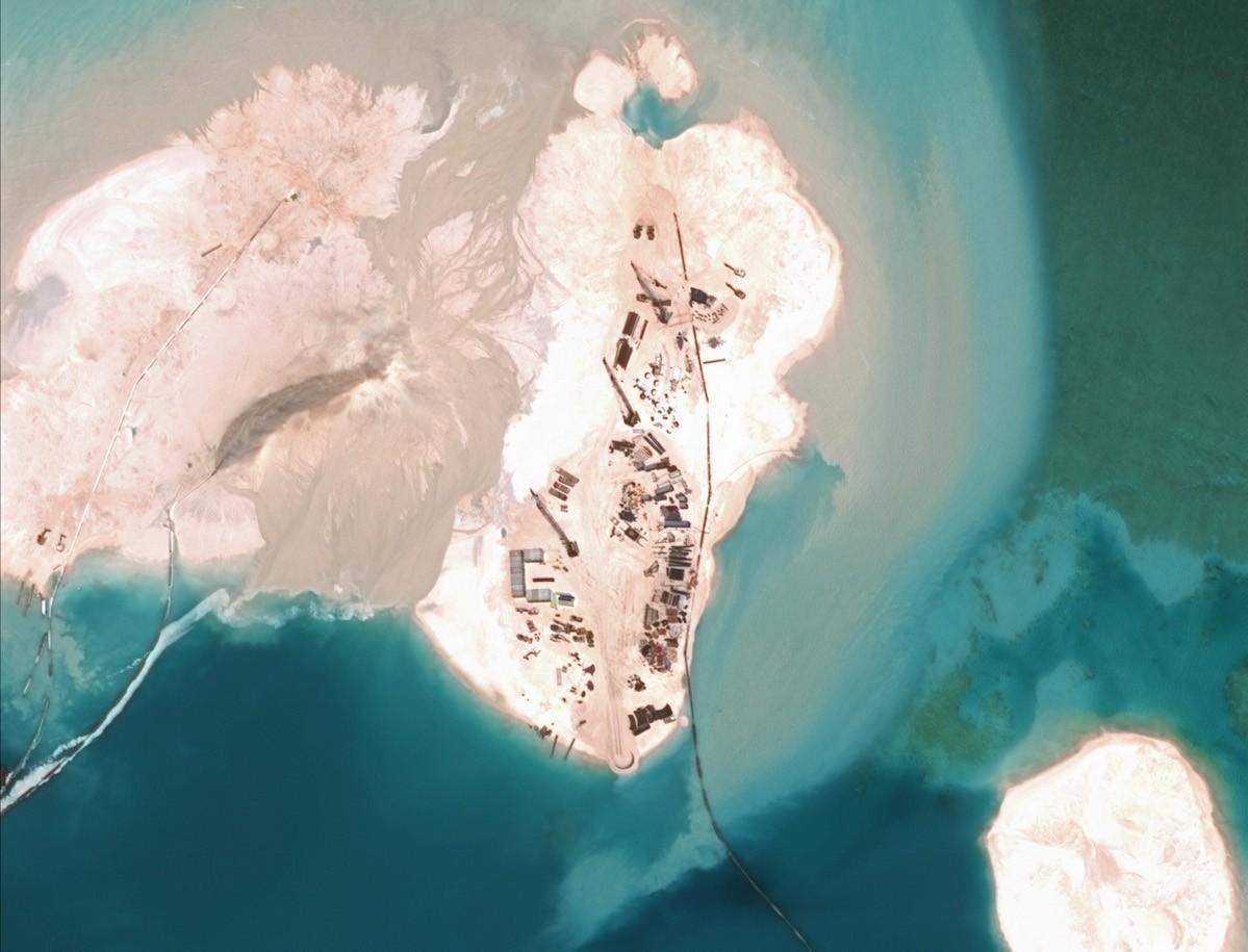 Геологоразведка на спорных территориях оон