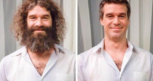 20 преобразившихся мужчин до и после того, как они подстриглись и побрились
