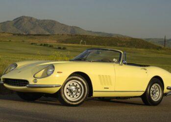 9. Ferrari 275 GTB/4*S NART Spider 1967 года выпуска.