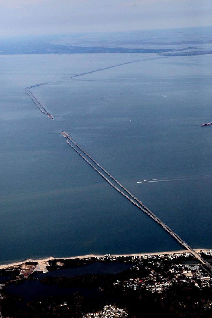Фото: Chesapeake Bay Bridge-Tunnel / Facebook.com.