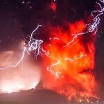 Red Hot: извержение вулкана вЧили