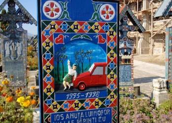 Черный юмор румынского кладбища