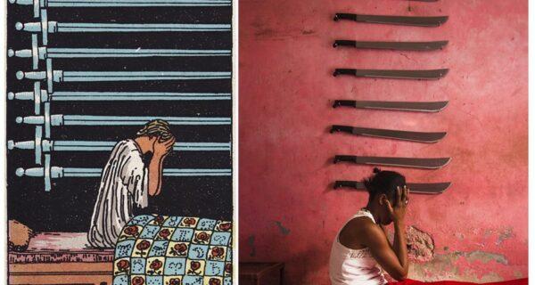 Жители Гаити воплотили в жизнь таинственные картыТаро