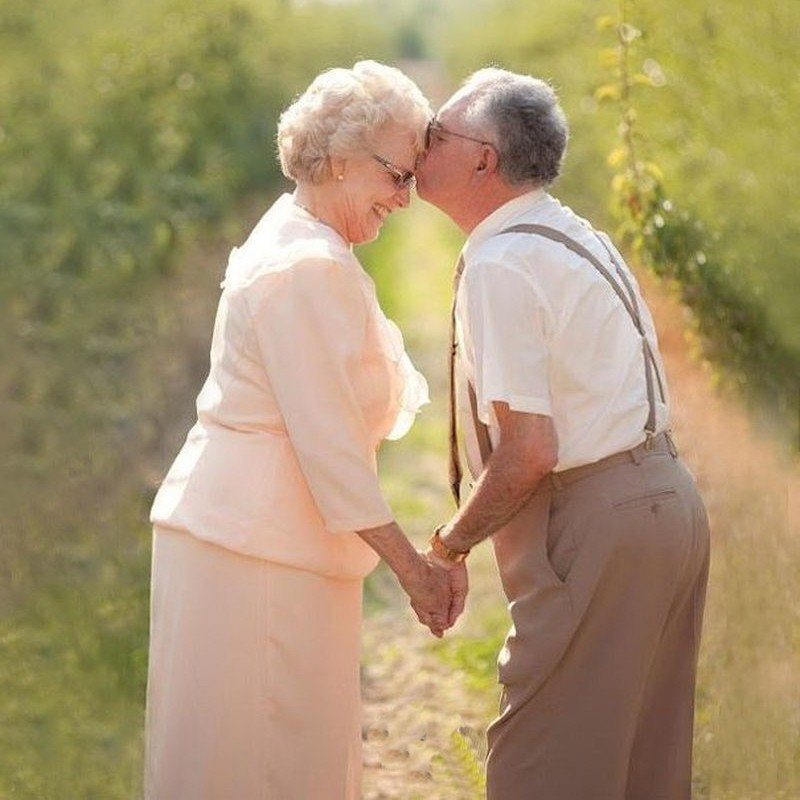 Wedding for mature couple