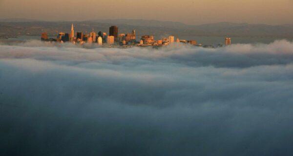 Головокружительные и завораживающие фотографии: города в облаках