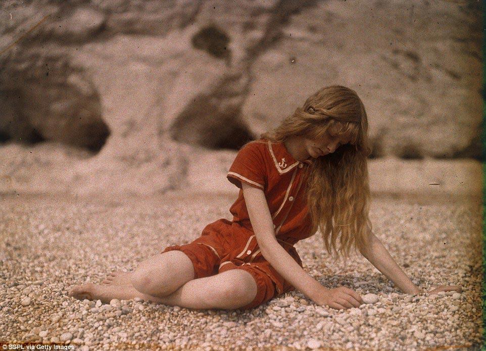 100-летняя фотосессия — самая старая из всех сохранившихся цветных фотографий