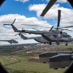Как сегодня вертолеты над Москвой летали