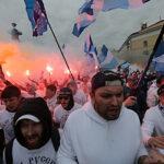Как Петербург попытался отпраздновать чемпионство «Зенита»